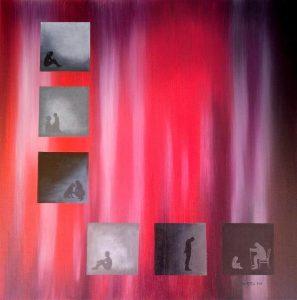"""Πίνακες ζωγραφικής - Ελαιογραφίεςς """"ΒΙΟΙ_ΠΑΡΑΛΛΗΛΟΙ_ΙΙΙ"""""""