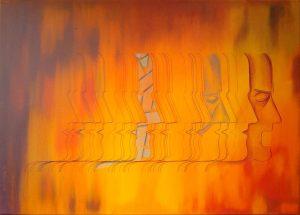 """Πίνακες ζωγραφικής - Ελαιογραφίεςς """"ΚΑΥΓΗ_ΙΙ"""""""