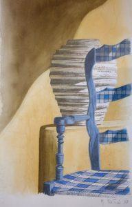 """Πίνακες ζωγραφικής - Ακουαρέλες """"ΜΕΣΗΜΕΡΙ_ΚΑΛΟΚΑΙΡΙΟΥ_ΙΙ"""""""