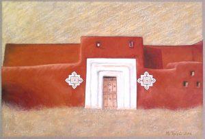 """Πίνακες ζωγραφικής - Παστέλ """"Ksour_VII"""""""