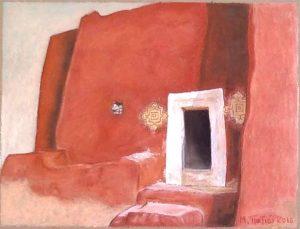 """Πίνακες ζωγραφικής - Παστέλ """"Ksour_VIII"""""""