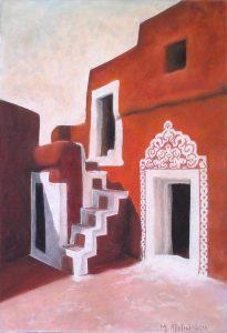 """Πίνακες ζωγραφικής - Παστέλ """"Ksour_X"""""""