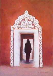 """Πίνακες ζωγραφικής - Παστέλ """"Ksour_XI"""""""