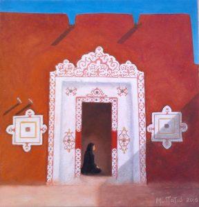 """Πίνακες ζωγραφικής - Παστέλ """"Ksour_XII"""""""
