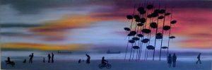 """Πίνακες ζωγραφικής - Ελαιογραφίες """"Waterfront_VI"""""""